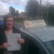 Amy passes her test!