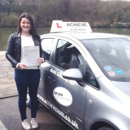First time pass for Olivia!