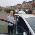 Grace passes her Driving Test.