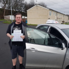 Great drive by Jake means he gets a first time Driving Test Pass.